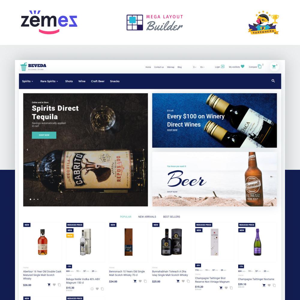 theme - Boissons & Tabac - Beveda - Alcohol Shop - 2