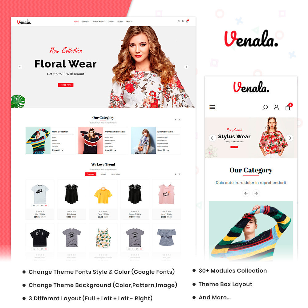 theme - Мода и обувь - Venala Fashion Big Mall - 1