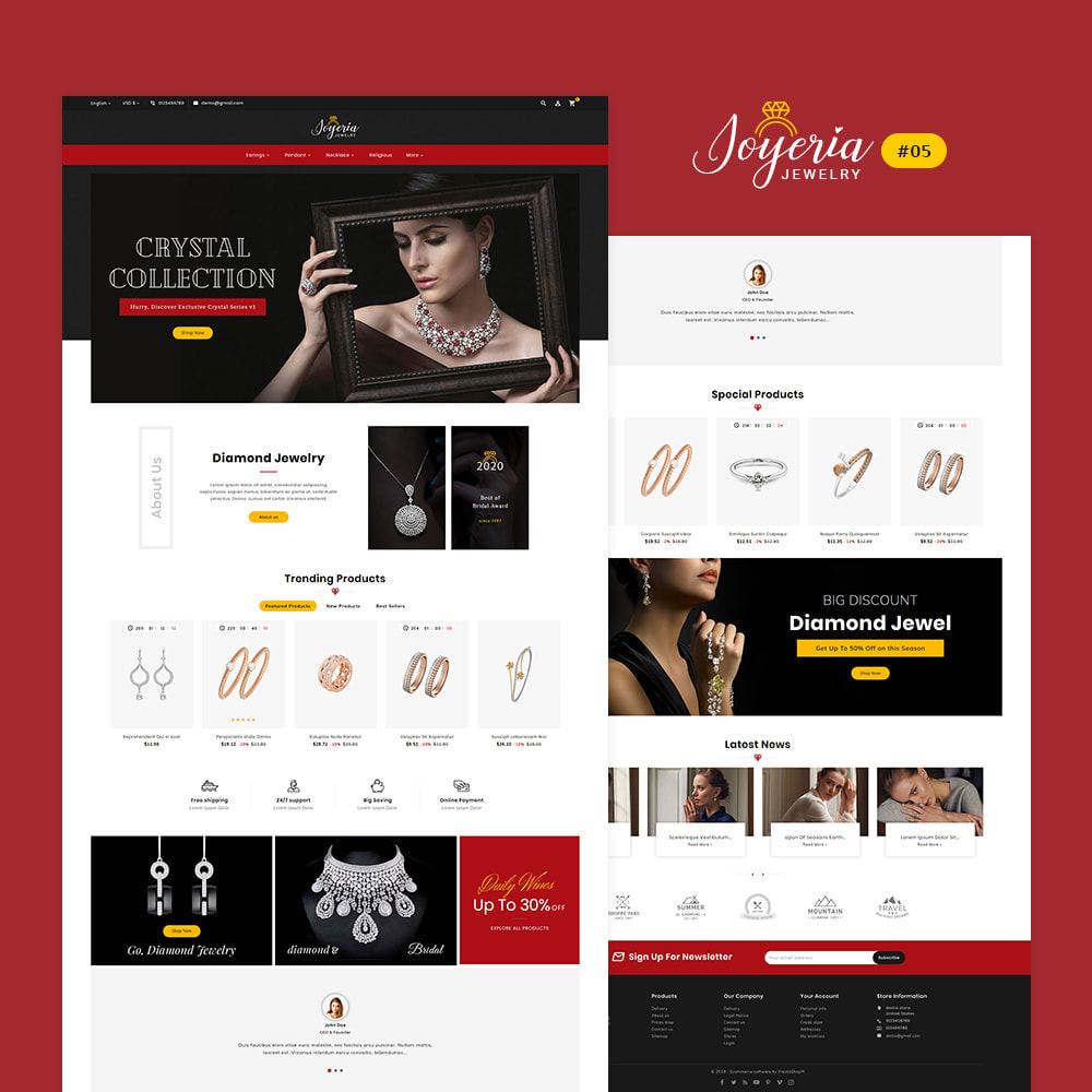 theme - Jewelry & Accessories - Joyeria - Imitation Jewelry & Diamond Shop - 6