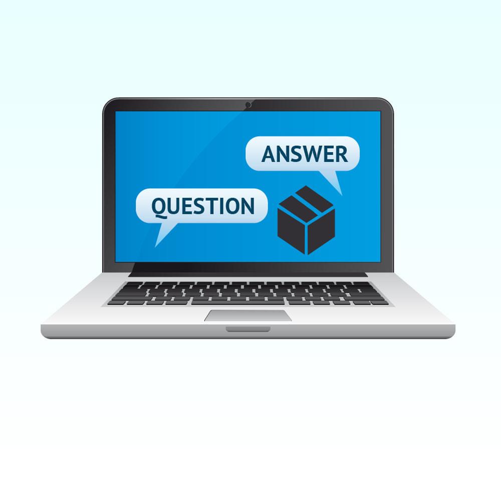 module - ЧАВО (FAQ) - Вопрос ответ в товаре - 1