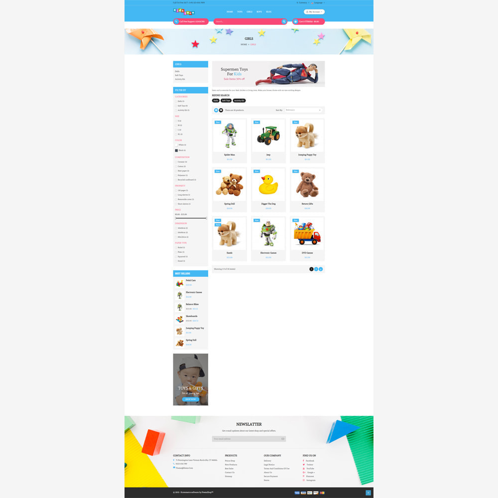theme - Kids & Toys - Kids Store - 3