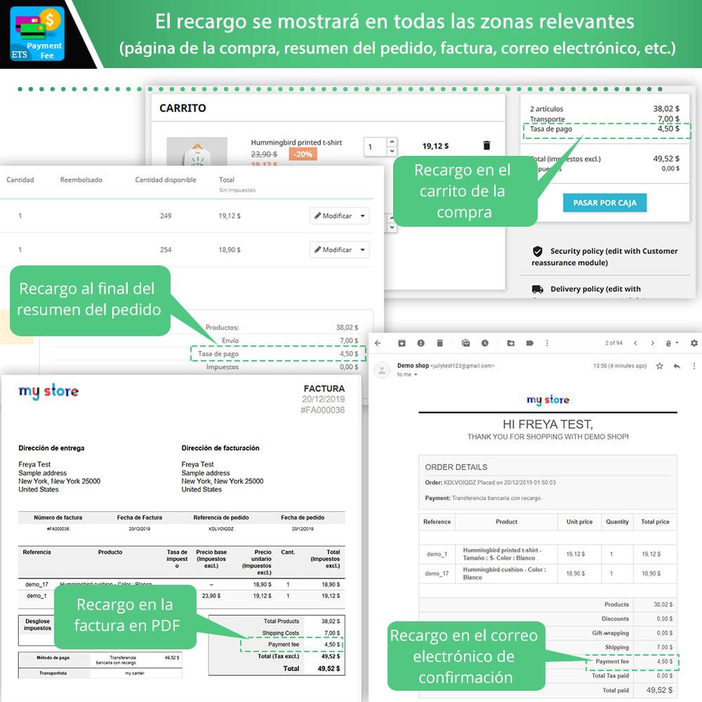 module - Otros métodos de pago - Payment With Fee: Paypal, Stripe, transferencia, etc. - 4