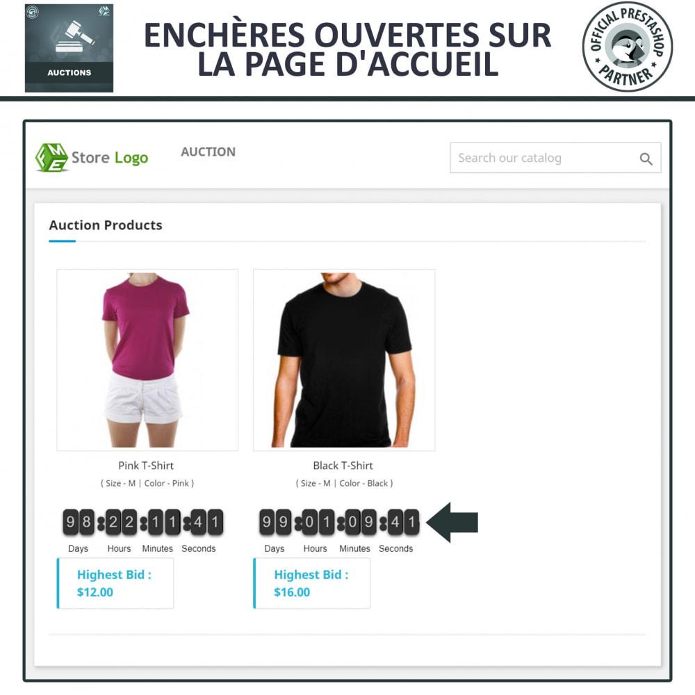 module - Site d'enchères - Enchères Pro - Système d'enchères en ligne - 2
