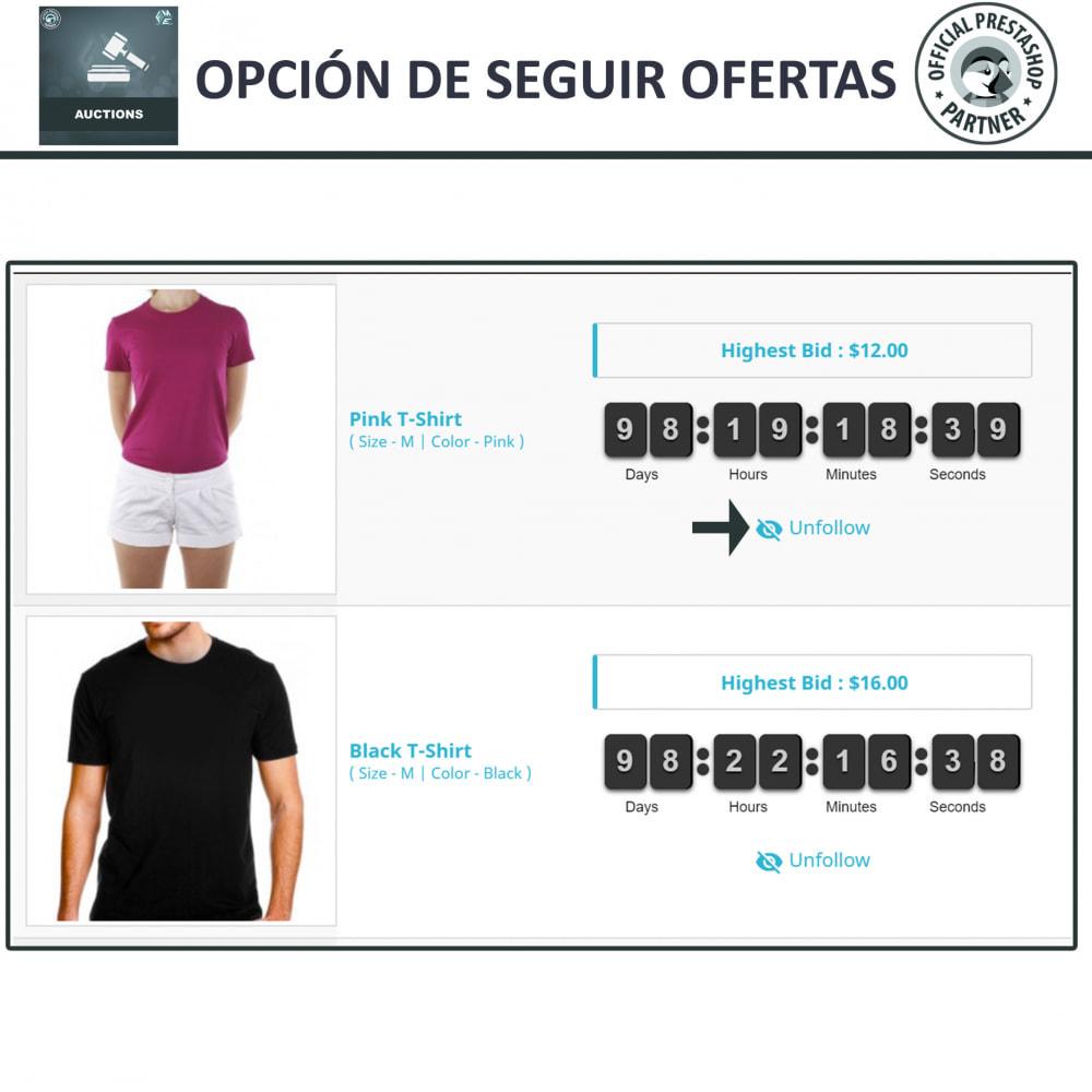 module - Web de Subastas - Subasta Pro - Subastas en línea y oferta - 5