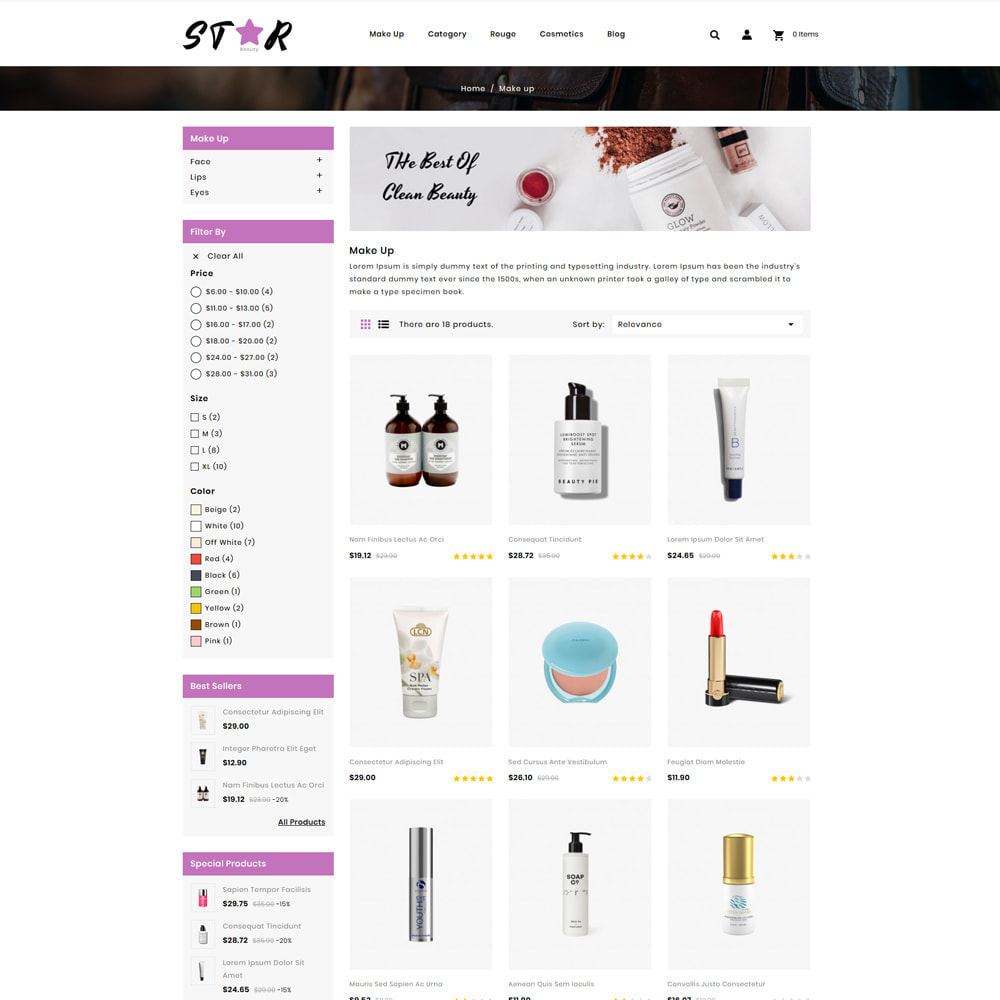 theme - Fashion & Shoes - Star Cosmetic Store - 3