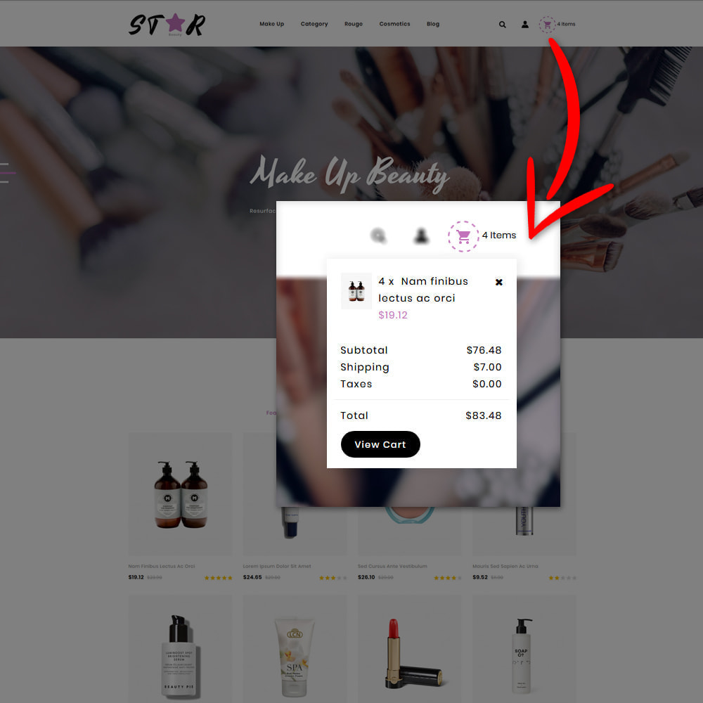 theme - Fashion & Shoes - Star Cosmetic Store - 5