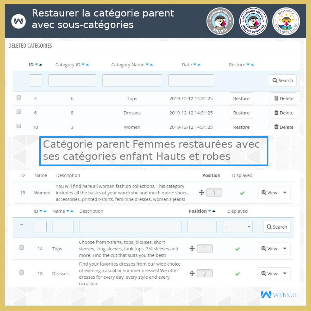 module - Migration de Données & Sauvegarde - Restaurer Données Supprimées - 4