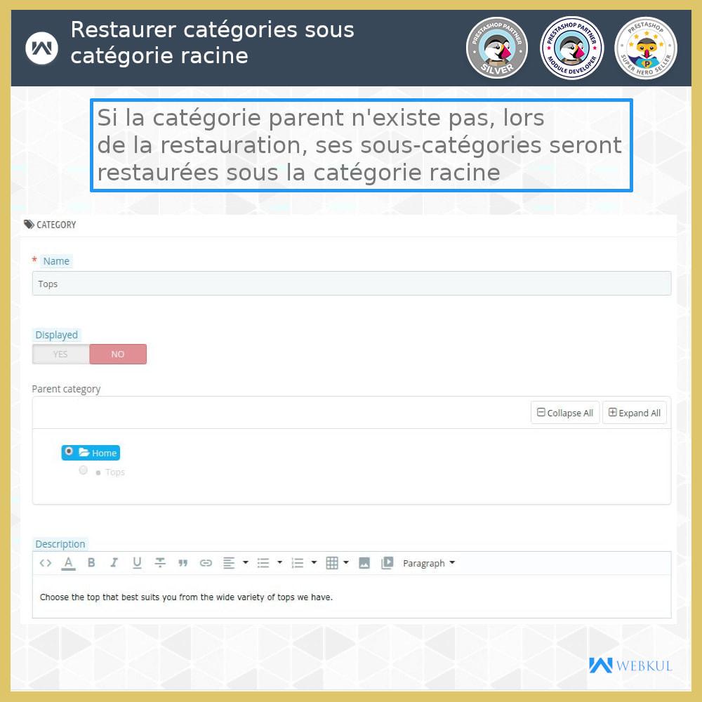 module - Migration de Données & Sauvegarde - Restaurer Données Supprimées - 5