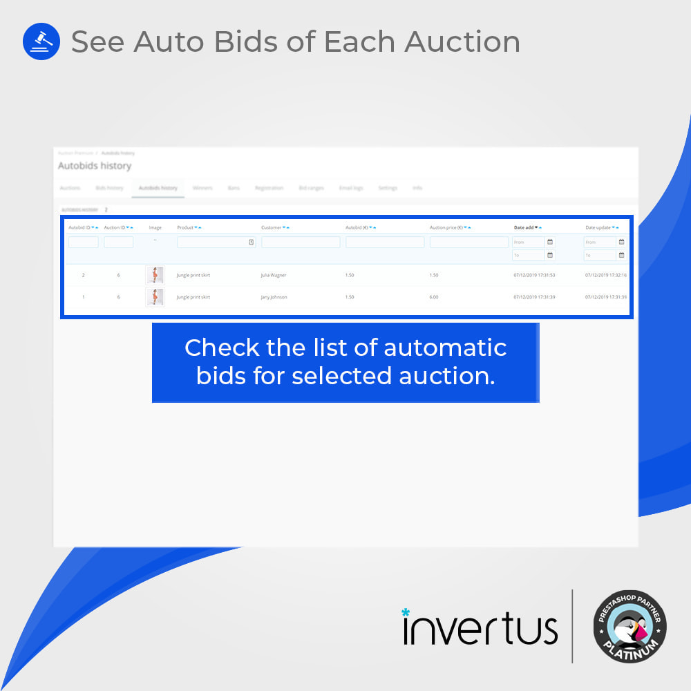 module - Auktionsseiten - Auction Premium - 18