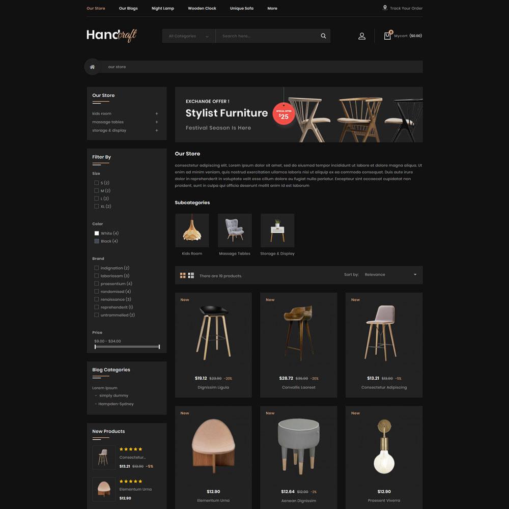 theme - Casa & Giardino - Handcraft - Il negozio di mobili - 5