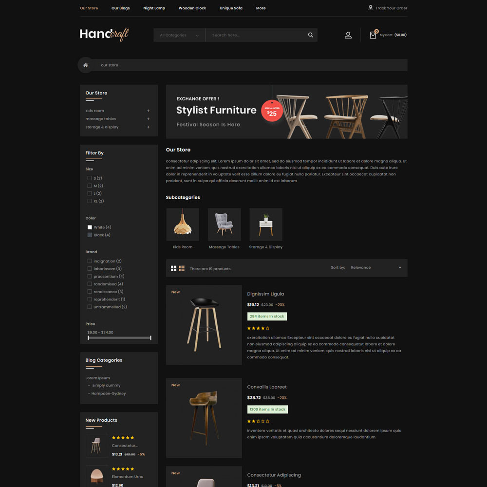theme - Casa & Giardino - Handcraft - Il negozio di mobili - 6