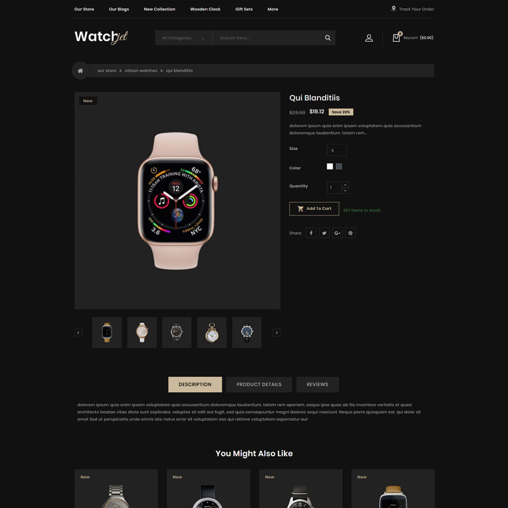 theme - Electronics & Computers - Watchjet - The Watch Store - 6