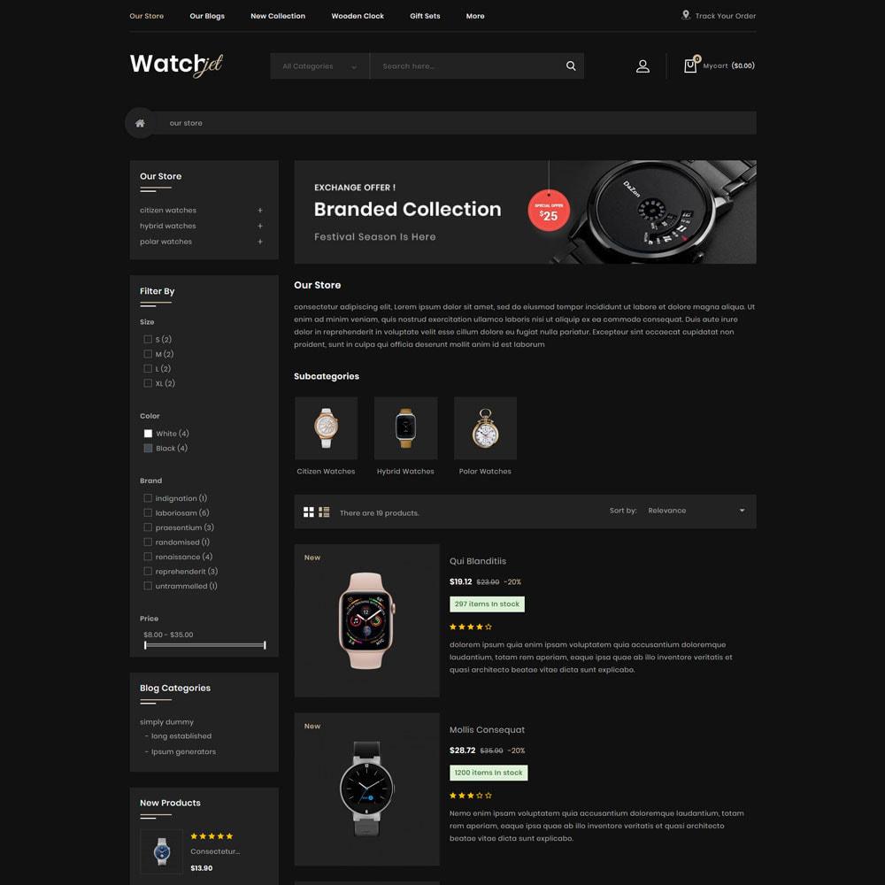 theme - Electrónica e High Tech - Watchjet - La tienda de relojes - 6