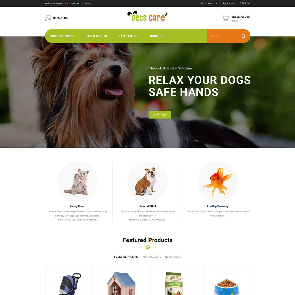 theme - Animals & Pets - Petscare - The Pet Store - 3