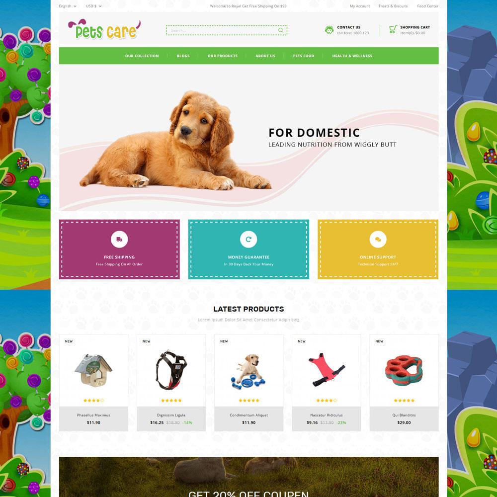 theme - Animals & Pets - Petscare - The Pet Store - 5