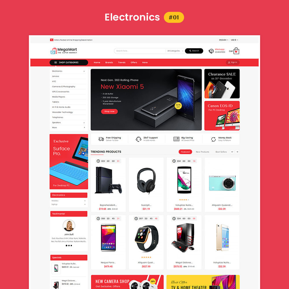 theme - Elektronica & High Tech - Mega Mart - Multi Purpose - 2