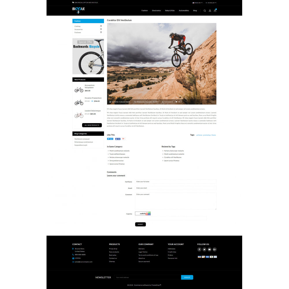 theme - Auto's & Motoren - Bicycle Store - 9