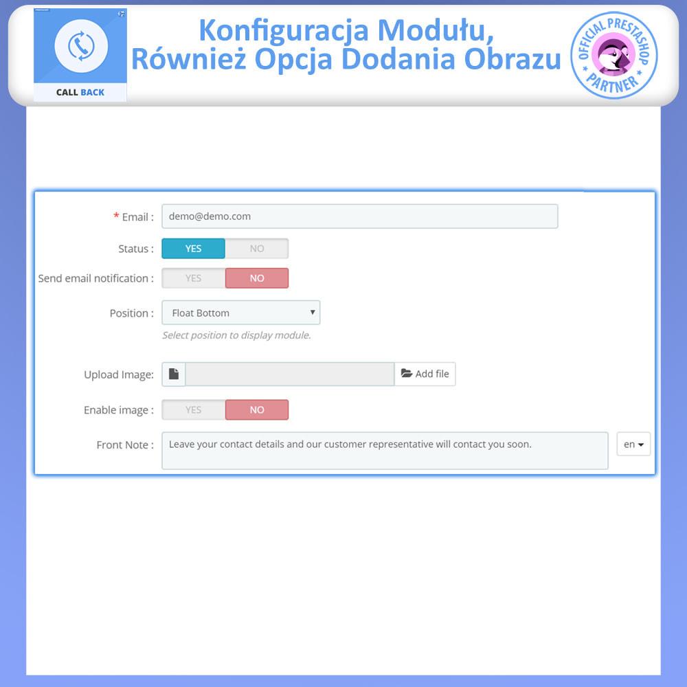 module - Wsparcie & Czat online - Oddzwonienie-ustalony i zmienny formularz oddzwaniania - 5