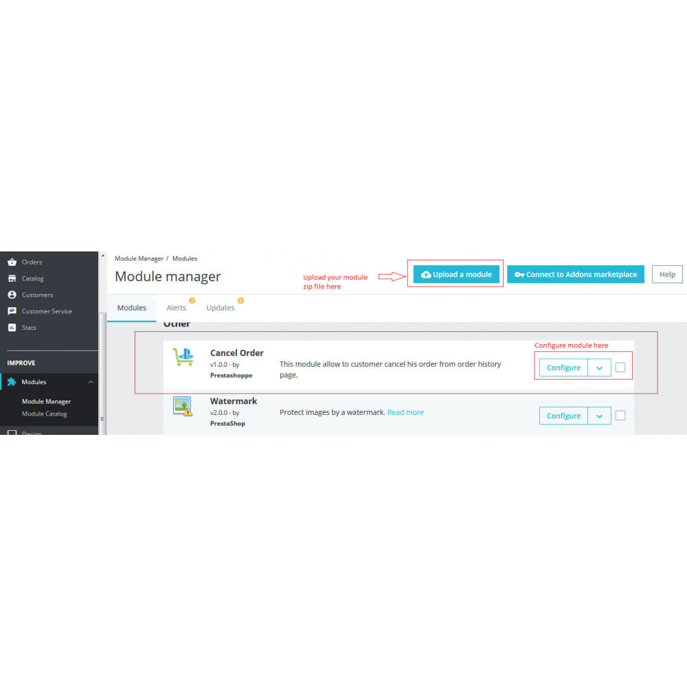 module - Registration & Ordering Process - Cancel Order - 2