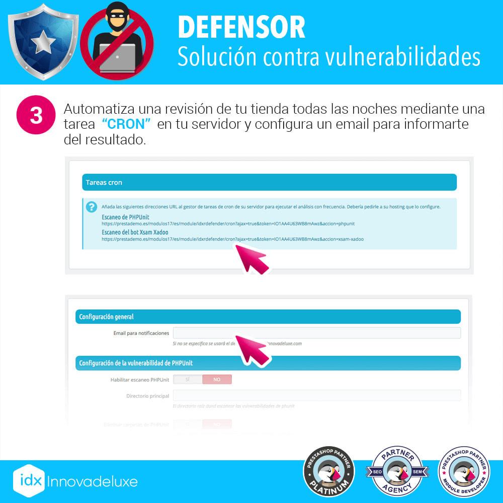 module - Administración del sitio - Eliminación de vulnerabilidades PHPUnit y XsamXadoo - 4