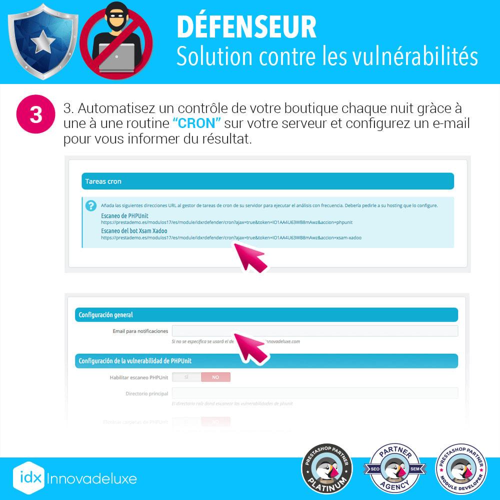 module - Administration du site - Suppression des vulnérabilités  PHPUnit et XsamXadoo - 4