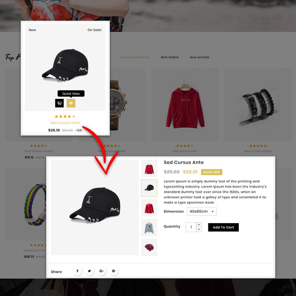 theme - Мода и обувь - Dozzy Fashion Shop - 8