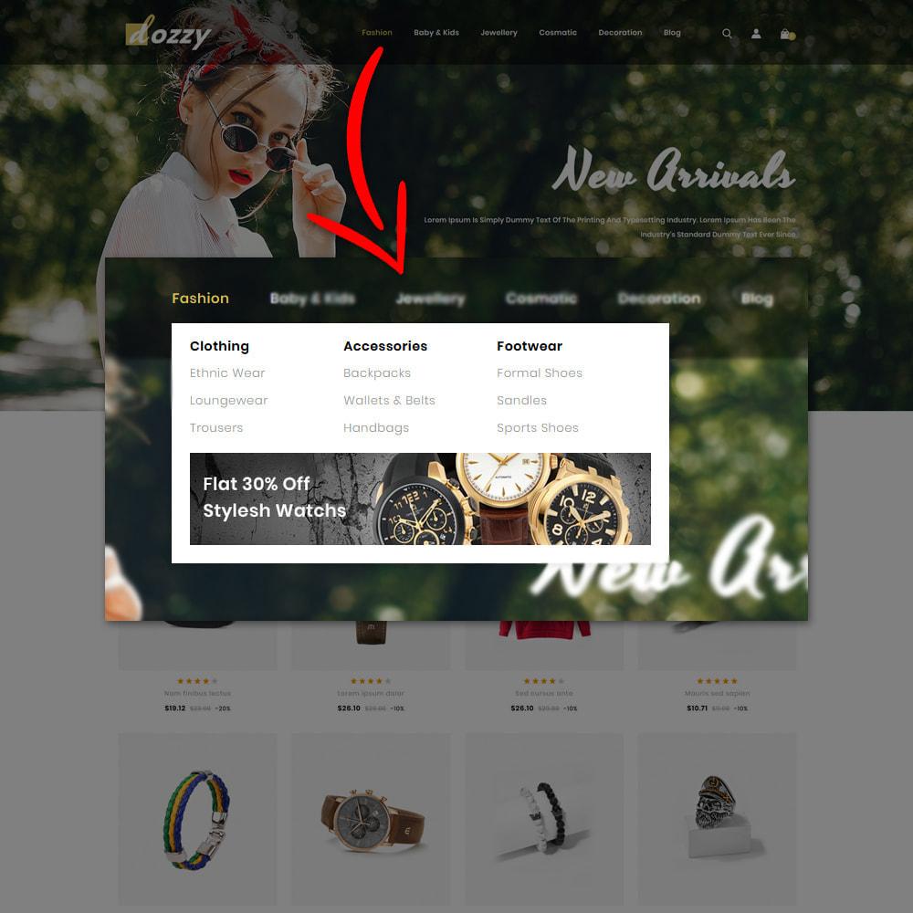 theme - Мода и обувь - Dozzy Fashion Shop - 9