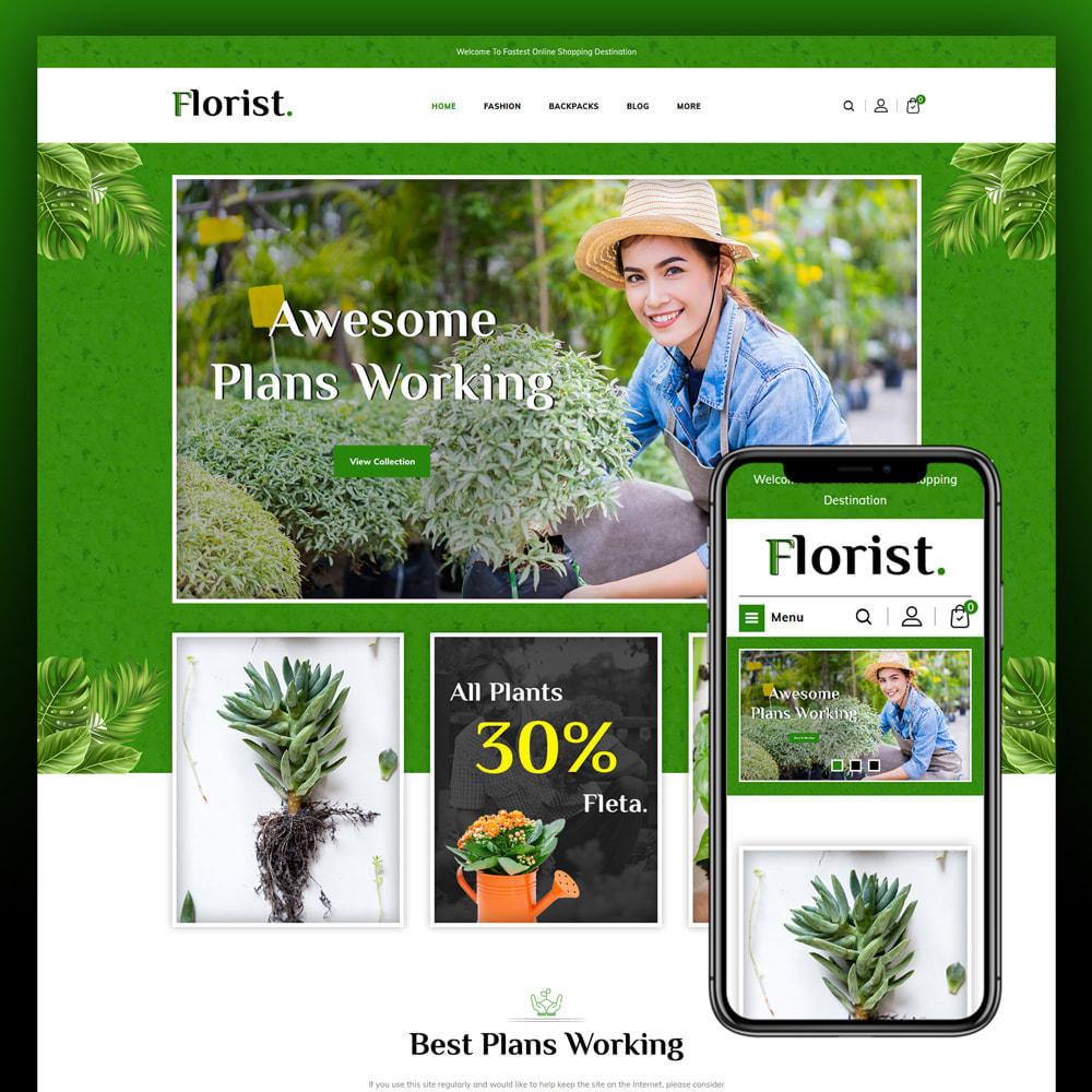 theme - Home & Garden - Florist - Plant Store - 1