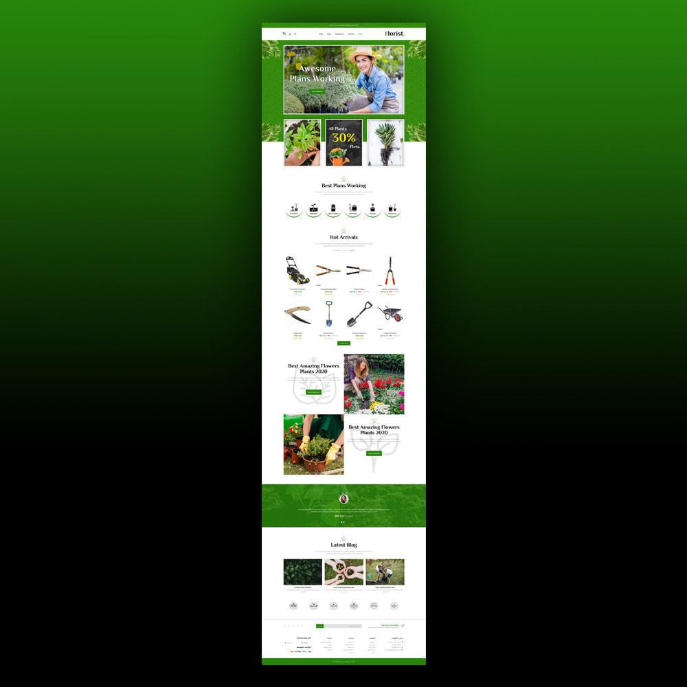 theme - Home & Garden - Florist - Plant Store - 7