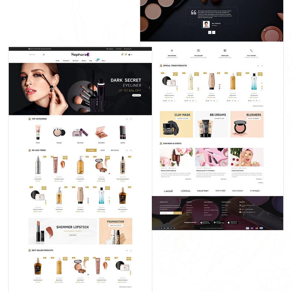 theme - Salud y Belleza - Sephora Bio–Cosmetic Mega Store - 3