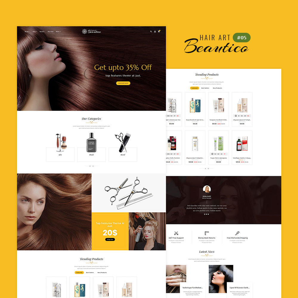theme - Saúde & Beleza - Beautico - Beauty & Cosmetics - 6
