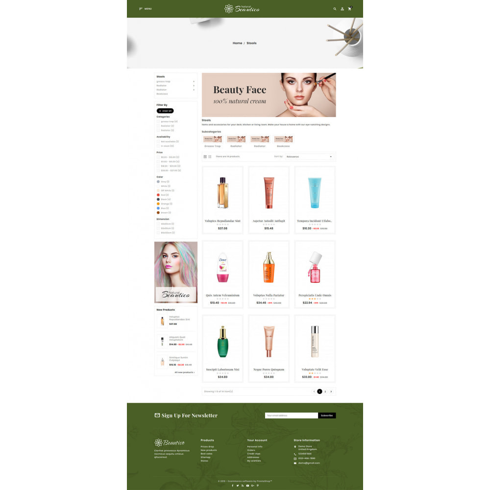 theme - Salud y Belleza - Beautico - Beauty & Cosmetics - 8