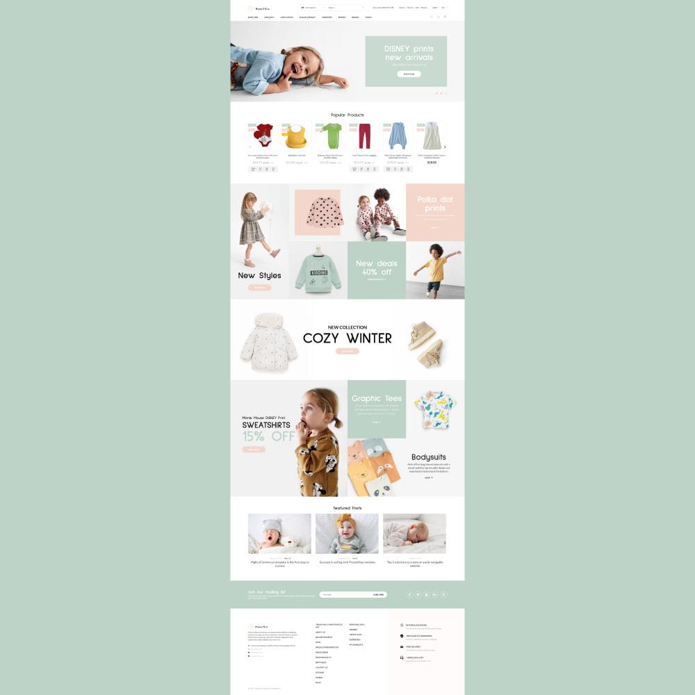 theme - Kids & Toys - Bambika - Kids' Apparel Store - 2