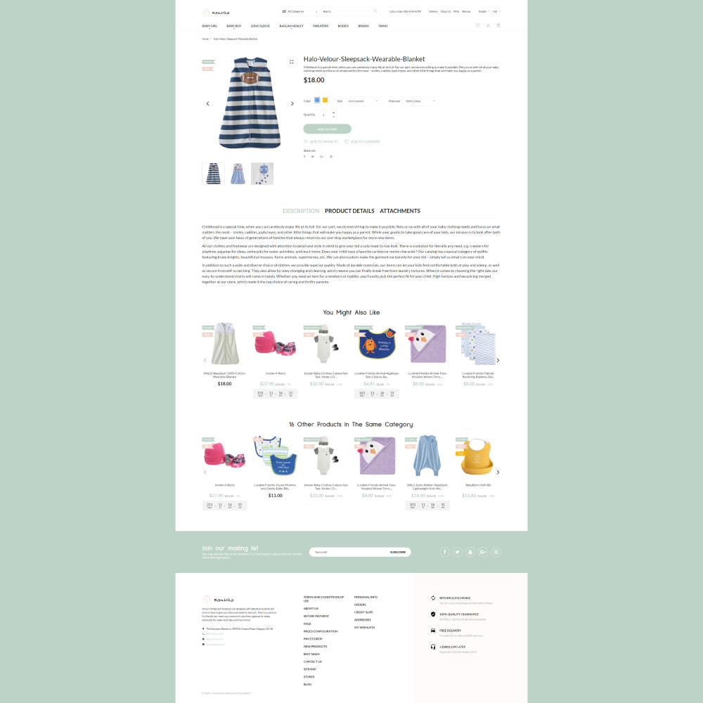 theme - Дети и Игрушки - Bambika - Kids' Apparel Store - 4