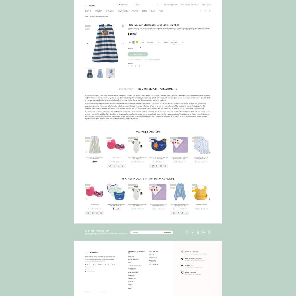 theme - Kids & Toys - Bambika - Kids' Apparel Store - 4