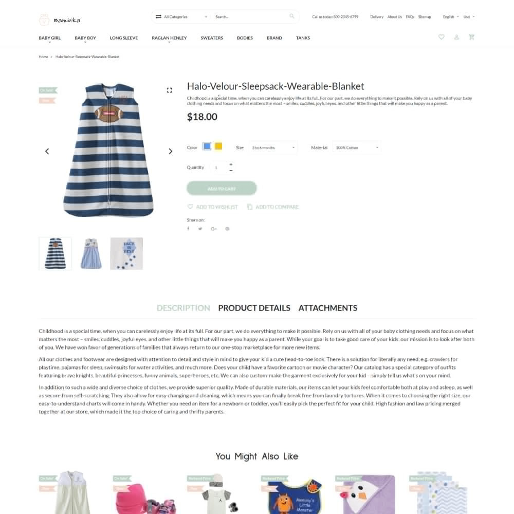 theme - Дети и Игрушки - Bambika - Kids' Apparel Store - 5