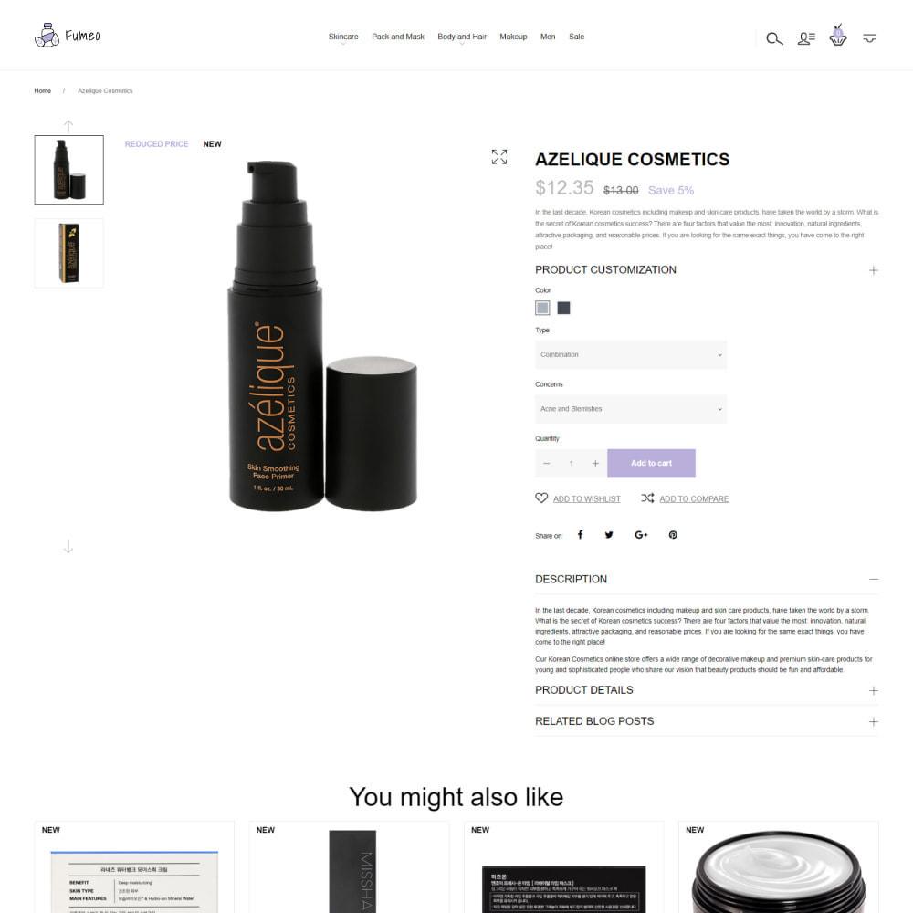 theme - Gesundheit & Schönheit - Fumeo - Korean Beauty Store - 3