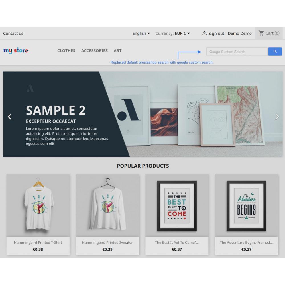 module - SEO (Indicizzazione naturale) - Google Custom Search Engine Pro - 13