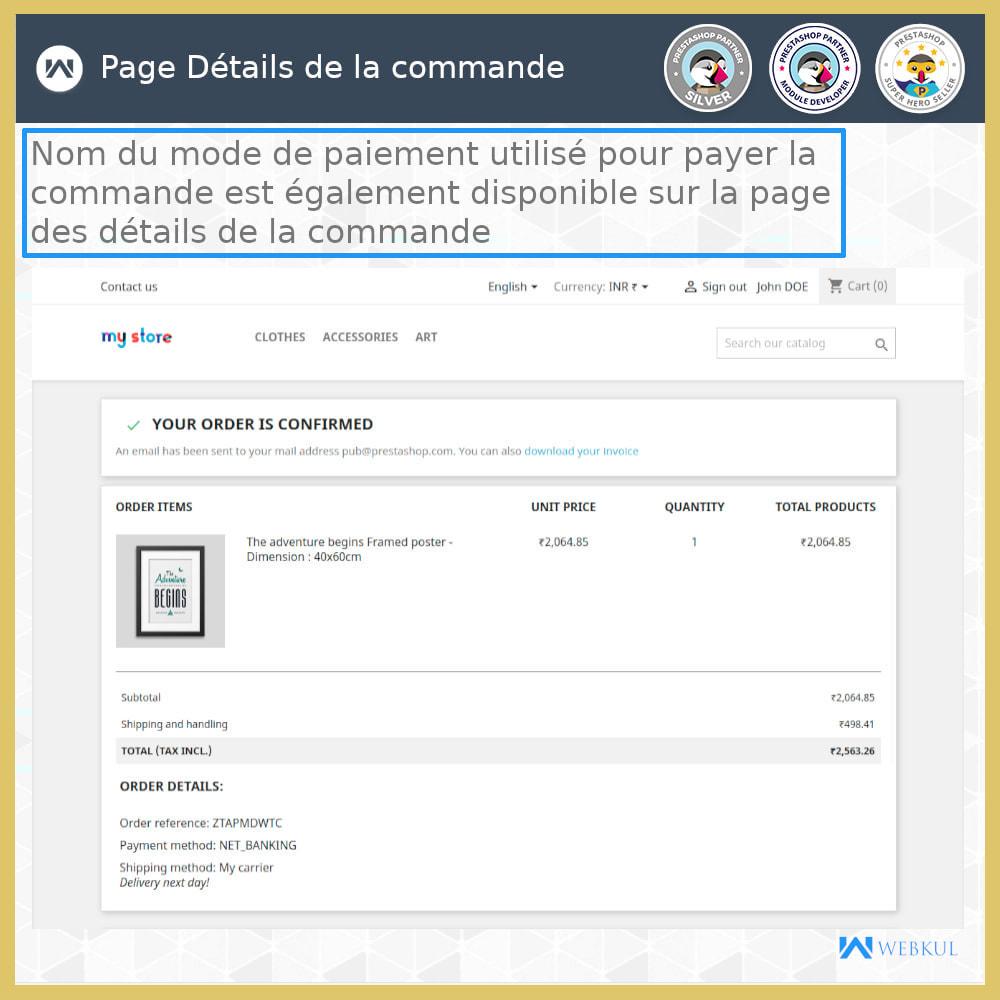 module - Paiement par Carte ou Wallet - Passerelle de paiement UPI - 7