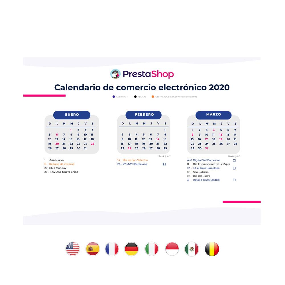 other - e-Commerce Calendar - 2020 E-commerce Calendar SPAIN - 2