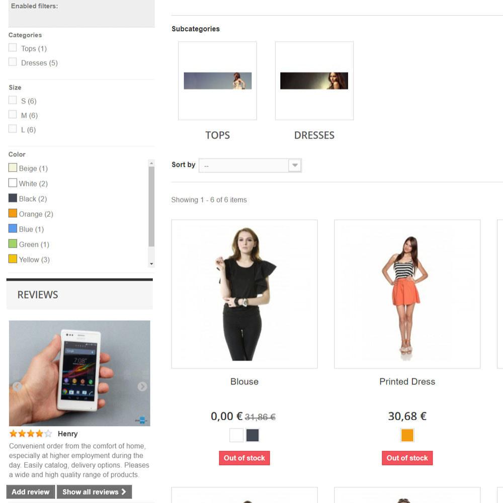 module - Opinie klientów - Recenzje na temat Twojego sklepu / produktu - 5