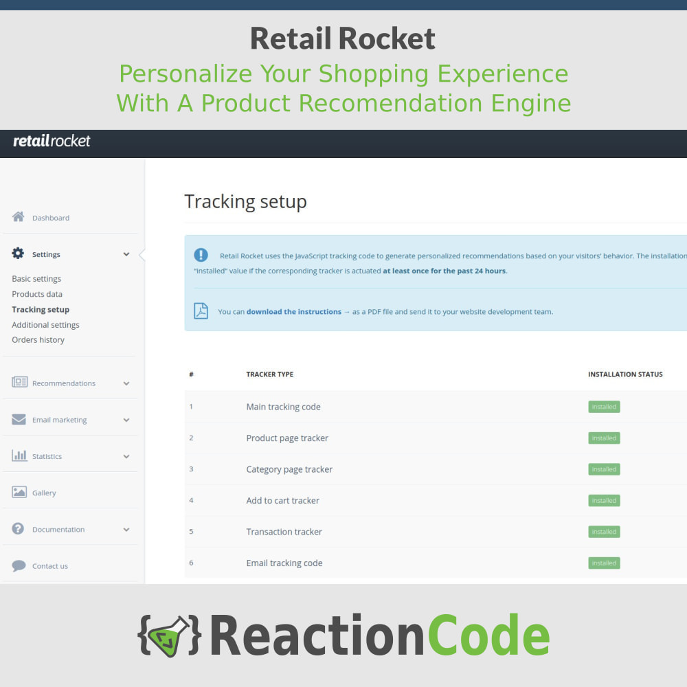 module - Ventas cruzadas y Packs de productos - Retail Rocket - 6