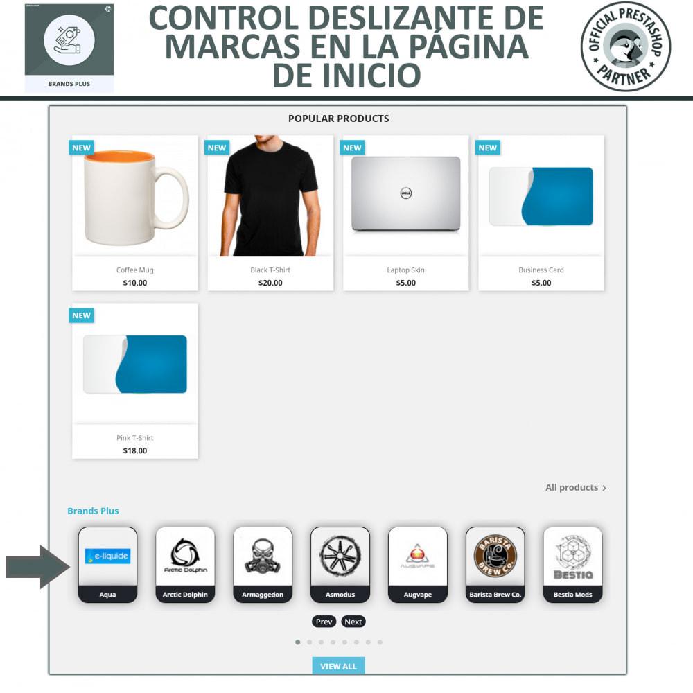 module - Marcas y Fabricantes - Marcas Plus - Marcas y carrusel del fabricante - 2