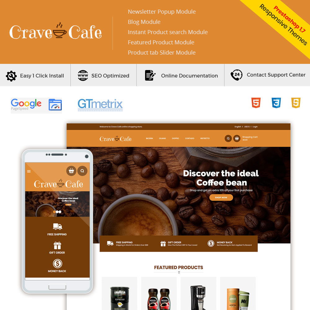 theme - Напитки и с сигареты - Cafe Drink - Coffee Tea  Restaurant  Food Store - 1