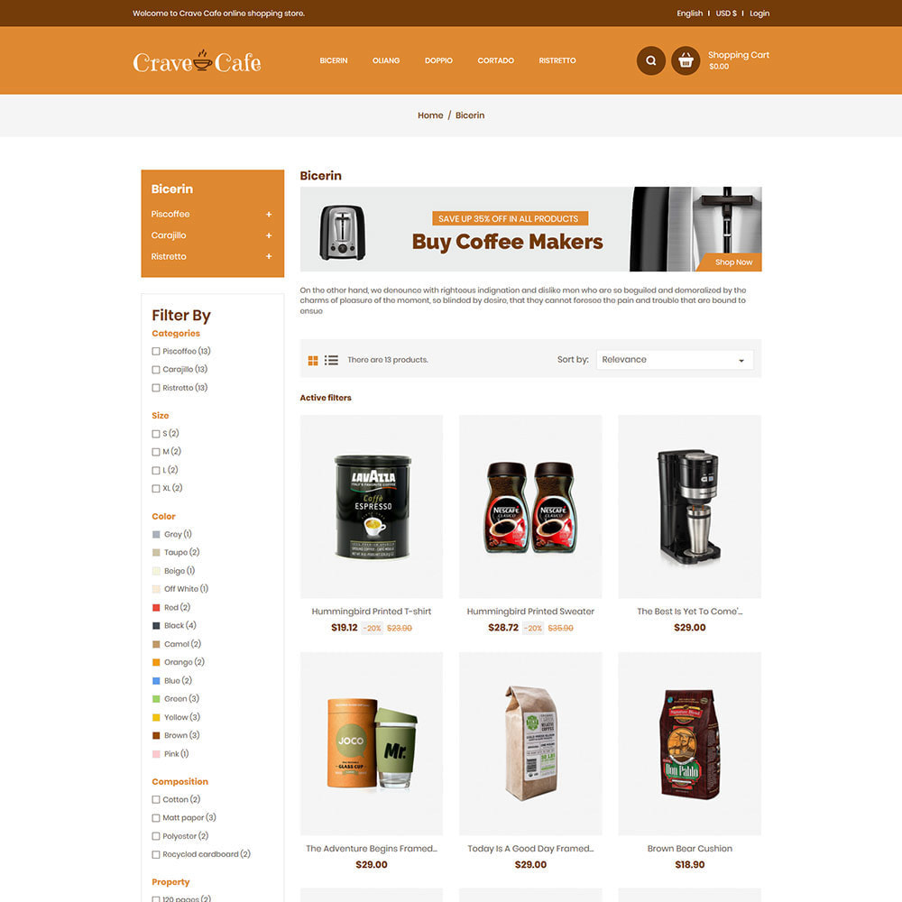 theme - Напитки и с сигареты - Cafe Drink - Coffee Tea  Restaurant  Food Store - 3
