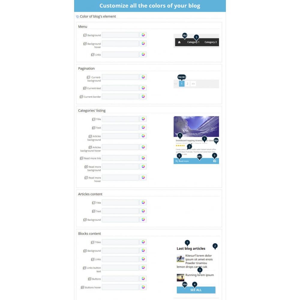 module - Blog, Foro y Noticias - Prestablog: un blog profesional para tu tienda - 7
