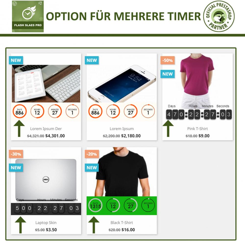 module - Flash & Private Sales - Flash Sales Pro - Werbeverkauf mit Countdown-Timer - 3