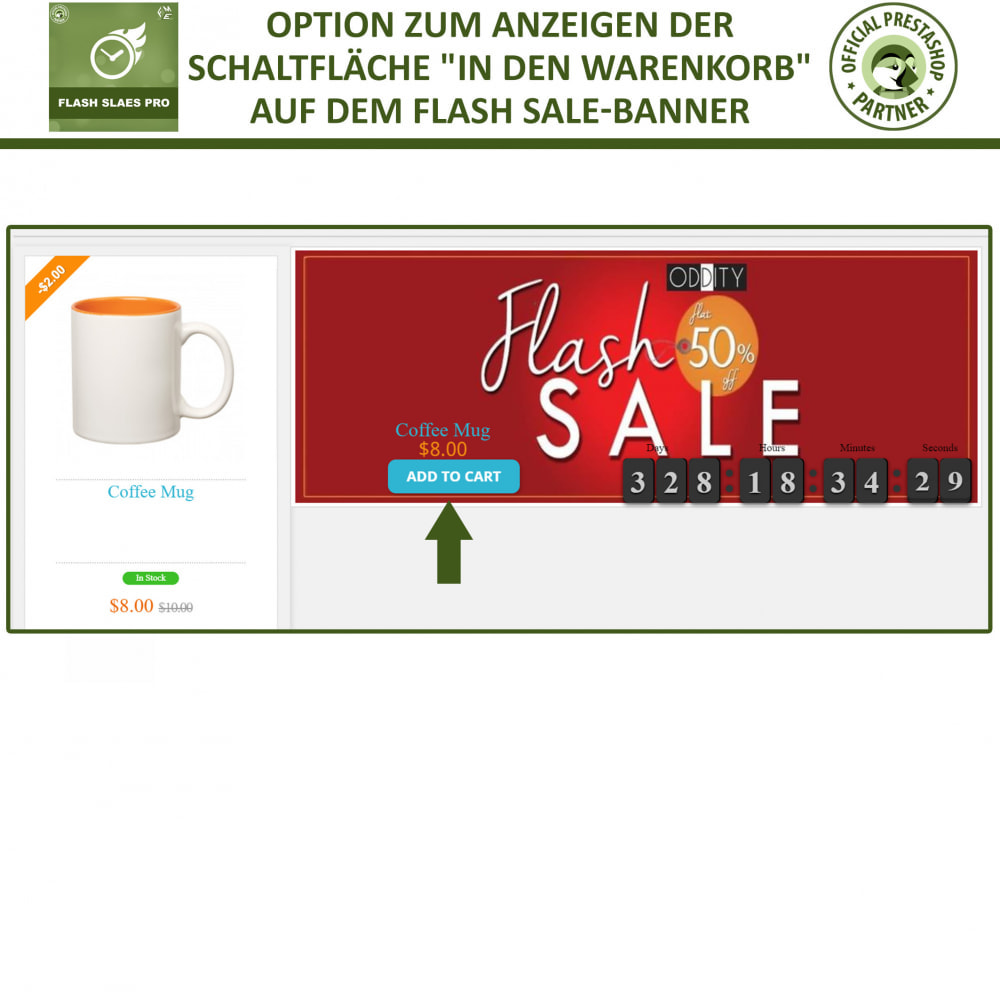 module - Flash & Private Sales - Flash Sales Pro - Werbeverkauf mit Countdown-Timer - 8