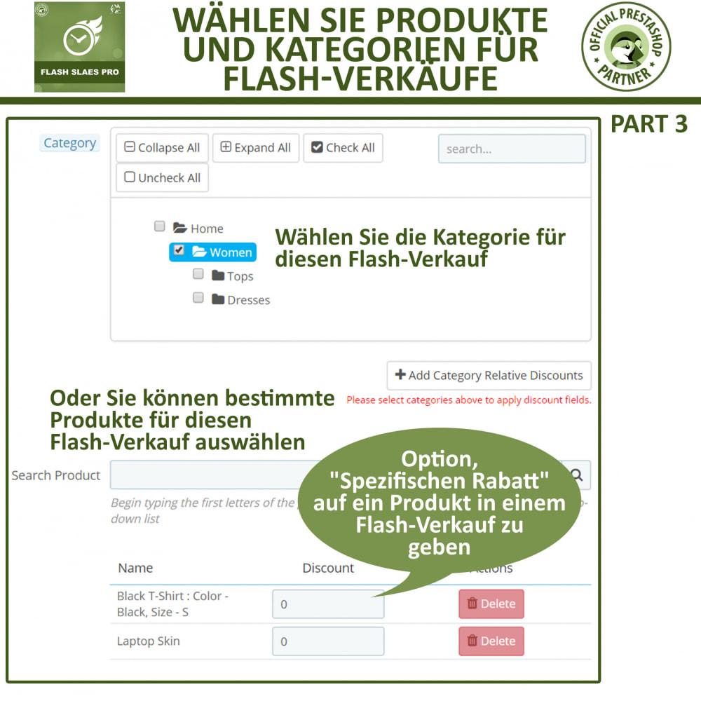 module - Flash & Private Sales - Flash Sales Pro - Werbeverkauf mit Countdown-Timer - 11