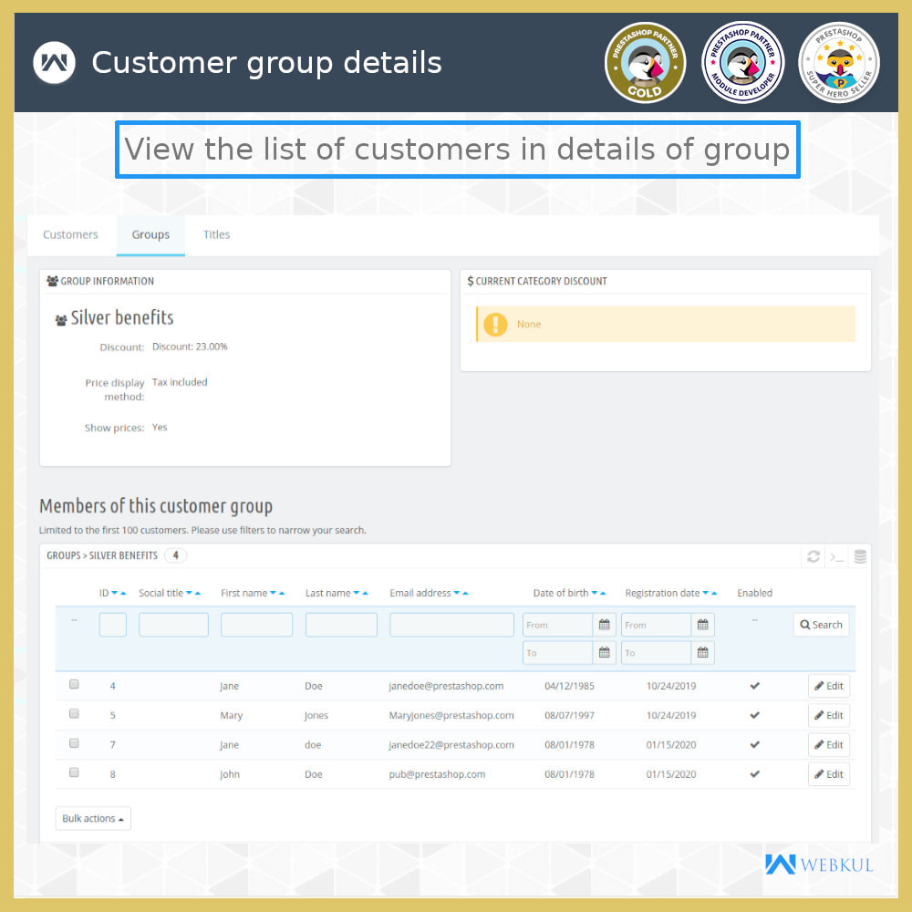 module - Customer Administration - Multi-User Customer Account | B2B Client - 6